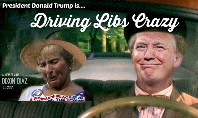 driving libs crazy
