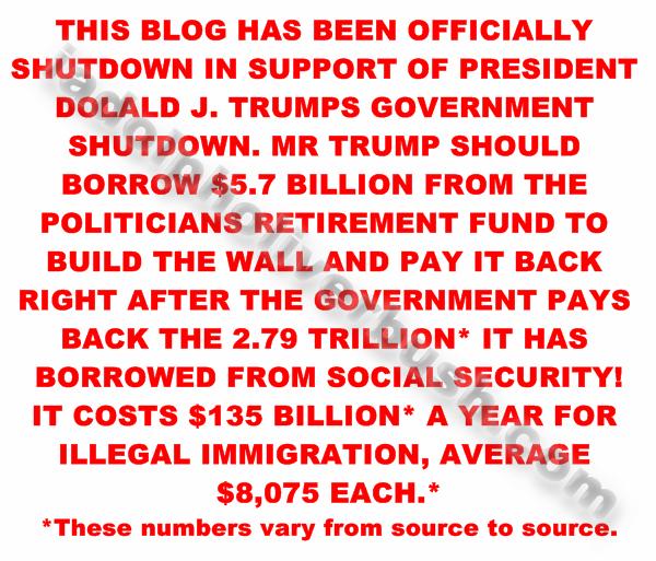 blog shutdown