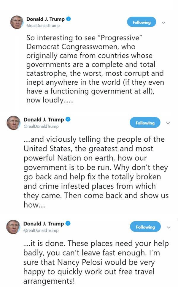 Trumps Tweet