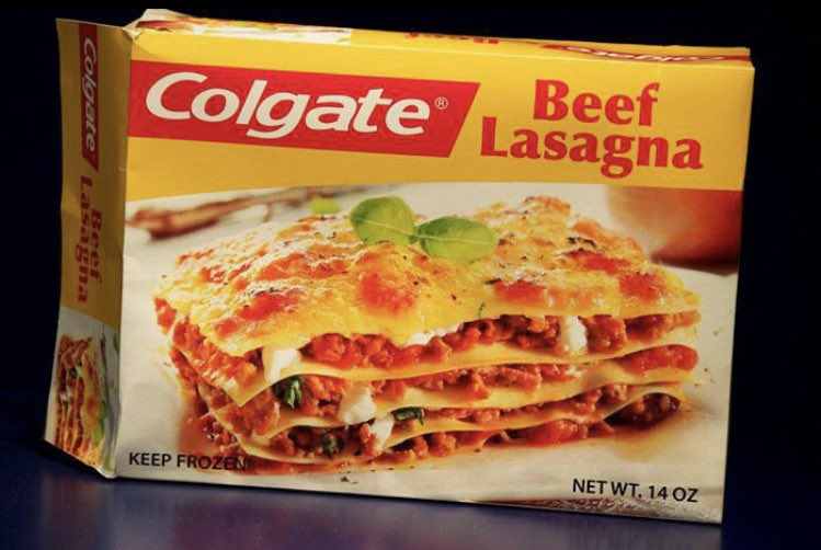 Colgate Lasagne