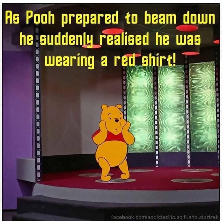 red shirt pooh
